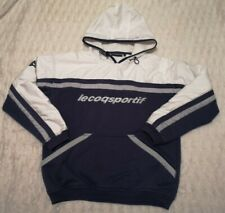 Le Coq Sportif GreyBlack pullover Hoodie Size M