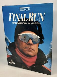 Bepuzzled  'Final Run' A mystery jigsaw thriller - Snow skiing  1000pc