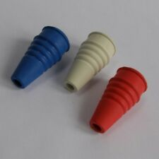 Rubber Tap Swirl for 1/2in 13mm Water Taps 21/2in 65mm Long Blue Red or White