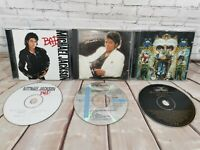 RARE JOBLOT LOT BUNDLE MICHAEL JACKSON CD THRILLER BAD DANGEROUS KING OF POP