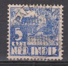 Nederlands Indie 251 CANCEL PALEMBANG Karbouw 1938 Netherlands Indies watermark