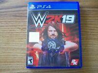 WWE 2K19 Playstation 4 - VERY GOOD & FREE SHIPPING