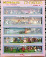 Louis Marx TV Tinykins Gift Set 34 Hand Painted Huckleberry Yogi Top Cat Tinykin