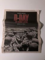 D-Day 70 Years Later June 6 1944 New York Daily News Newspaper