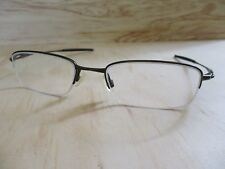 Oakley Spoke 0.5 red metal half rim rectangular sunglasses eyeglasses frames