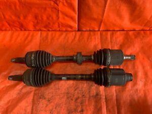 06-11 HONDA CIVIC SI 2.0L K20Z3 AXLE SET AXLES - DRIVER LEFT PASSENGER RIGHT OEM