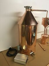 20 Gallon Copper Moonshine Still Still With Gin Basket-240 Volt Electric