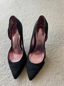 Red Or Dead Womens Black Shoes UK4