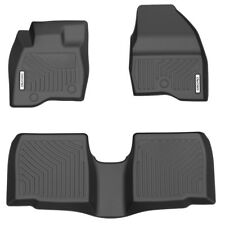 OEDRO Unique TPE Floor Liners Fit for 2017-2019 Ford Explorer Floor Mats