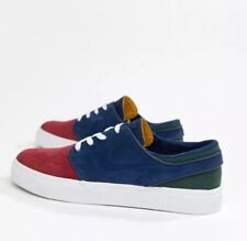 Nike Zoom Stefan Janoski UK 6 EUR 39 Red Crush/Blue Void White 333824 641