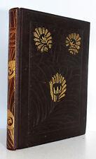Rubaiyat Omar Khayyam Fitzgerald Illustrated Willy Pogany 1910 Leather Binding