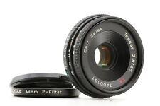 YASHICA Contax Carl Zeiss Tessar T* 45mm f2.8 1:2.8 MMJ MF Pancake Lens C/Y