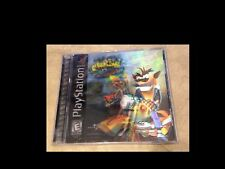 Crash Bandicoot 3 Warped Black Label w/ 3D Cover Complete in case Playstation 1