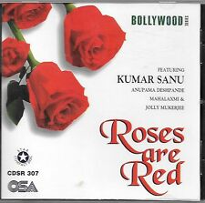 ROSES ARE RED - KUMAR SANU - BRAND NEW MIX SONGS CD - FREE UK POST