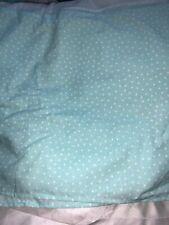 Jumping Beans Aqua Green Polka Dots TWIN Bedskirt nwop