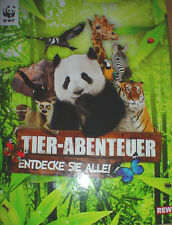 REWE WWF-Sticker Tier-Abenteuer - 10 aussuchen