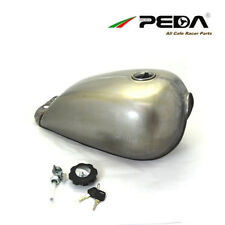 Cafe Racer Fuel Tank 9L 2.4 Gallon Motorcycle Gas Tanks For Suzuki GN Universal
