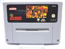 Nintendo SNES Spiel - WWF RAW (Modul)(PAL) 11449416