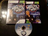 Minute to Win It (Microsoft Xbox 360, 2011) *BUY 2 GET 1 FREE +FREE SHIPPING*