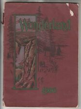 1906 SOUVENIR BOOKLET - WONDERLAND - BY OLIN WHEELER - NORTHERN PACIFIC RAILWAY
