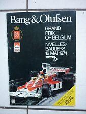 GRATON /  MICHEL VAILLANT  / PUB  POUR BANG ET OLUFSEN / GRAND PRIX / 1974