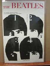 THE BEATLES  (United artist 1964) Vintage Poster 4709