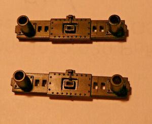 Gützold Pufferbohlen, unbedruckt,  für E-Lok BR-155 / BR-250  2 Stück