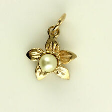 Rose Gold Flowers Plants Fine Necklaces & Pendants