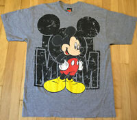 90s vintage MICKEY MOUSE t shirt XL gray Mickey Unlimited Disney cartoon