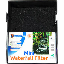SUPERFISH MINI WATERFALL FILTER - Wasserfall Teichfilter Set Garten Filter klein
