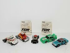 Vintage Ideal TCR Slotless Cars & Truck Lot GITD Untested Slot Car READ
