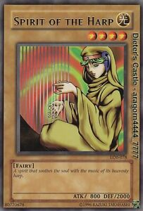 YU-GI-OH, SPIRIT OF THE HARP, R, LOB-078, TOP