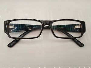 FRENCH CONNECTION glasses black rectangle  frame  FC89 25142501