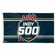 2019 Indianapolis 500 103RD Running Event Logo Collector Flag Banners 3' x 5'