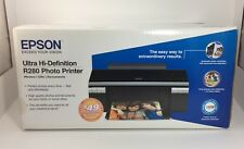 NEW Epson R280 Ultra Hi-Definition Photo Printer CDs Documents FACTORY SEALED