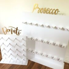 Prosecco Wall And Donut Wall To Hire!