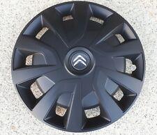 4 Radkappen für Citroen Jumper/Fiat/Peugeot in 15 Zoll in schwarz matt REVO
