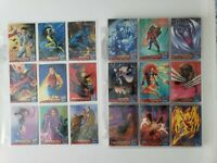 1994 X-Men Fleer Ultra Set + Portrait subset (159 cards in pages)