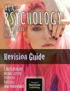 AQA Psychology for A Level Year 2 Revision Guide by Mohamedbhai, Arwa Book The