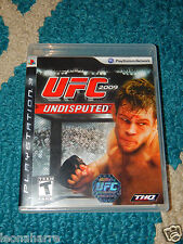 UFC Undisputed 2009 (Sony Playstation 3, 2009) MMA Free Shipping! Very Good