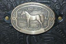 Tony Lama Arabian Horse Buckl Burgundy Western Cowhide Leather 2 3 Ring Binder