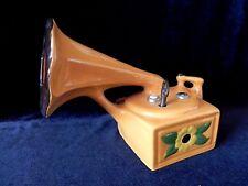 NARCO Switzerland VICTROLA PHONOGRAPH PORCELAIN MUSIC BOX Anniversary Waltz