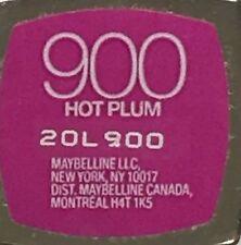 Maybelline Color Sensational Lip Color - Some Discontinued Color
