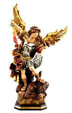 Erzengel Michael, Engelfigur, Skulptur Holz 60 cm !