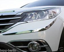 Zubehör für Honda CR-V ab 2012 Chrom Stoßstangenecken Blenden Tuning Leisten