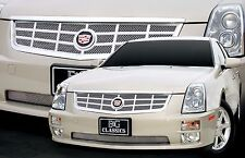 2005-2007 Cadillac STS Classic Eighteen Grille Upper Stainless -E&G 1006-0018-05