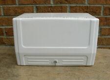 Vintage Gas Station Garage Bi Fold Towel Dispenser With Key White