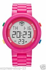 Lego Digifigure Pink Adult 9007422 Stop Watch Grey Dial Watch Free Shipping New
