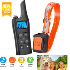 Anti-Bark Electric Shock Dog Pet Training E-Collar Remote Control Obedience Set