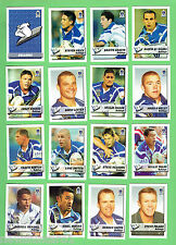 CANTERBURY BULLDOGS  2002 NEWSPAPER  RUGBY LEAGUE CARDS